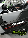 McNasty Customz Polaris RZR RS1 1000 Upper Door Inserts