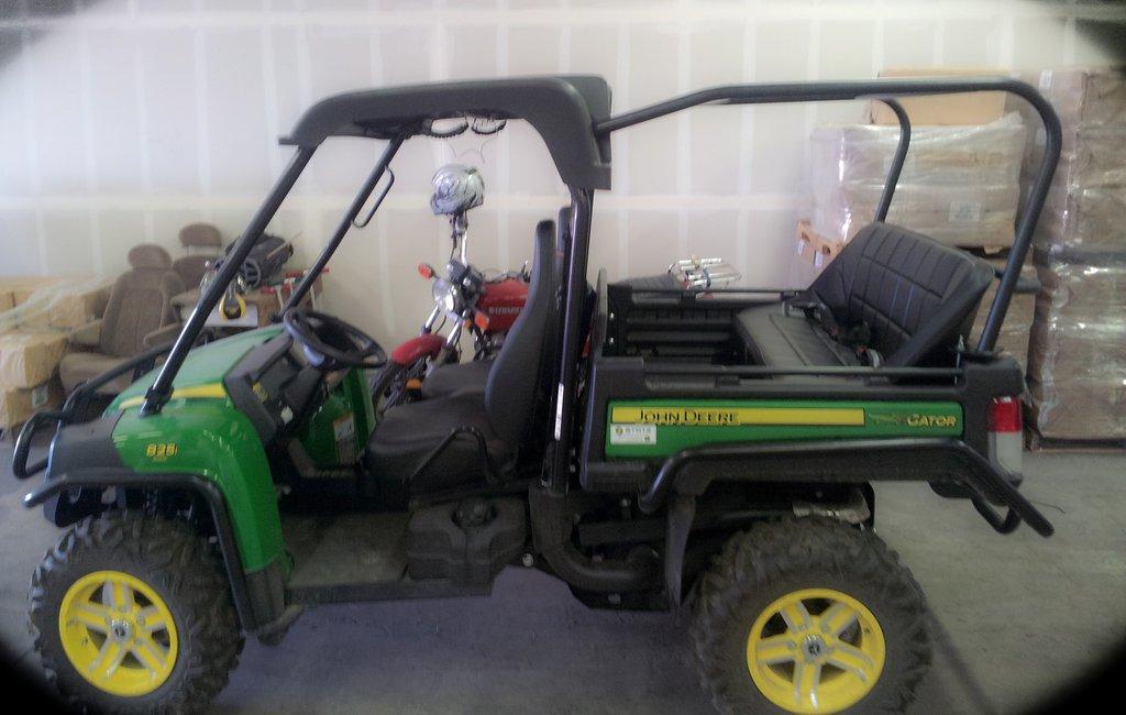John Deere Gator Accessories >> Utvma John Deere Gator 825i Backseat And Roll Cage Kit