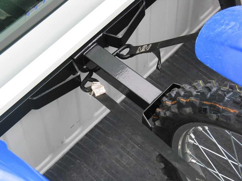Bau Mx3 Bed Bar Motorcycle Tie Down Rack