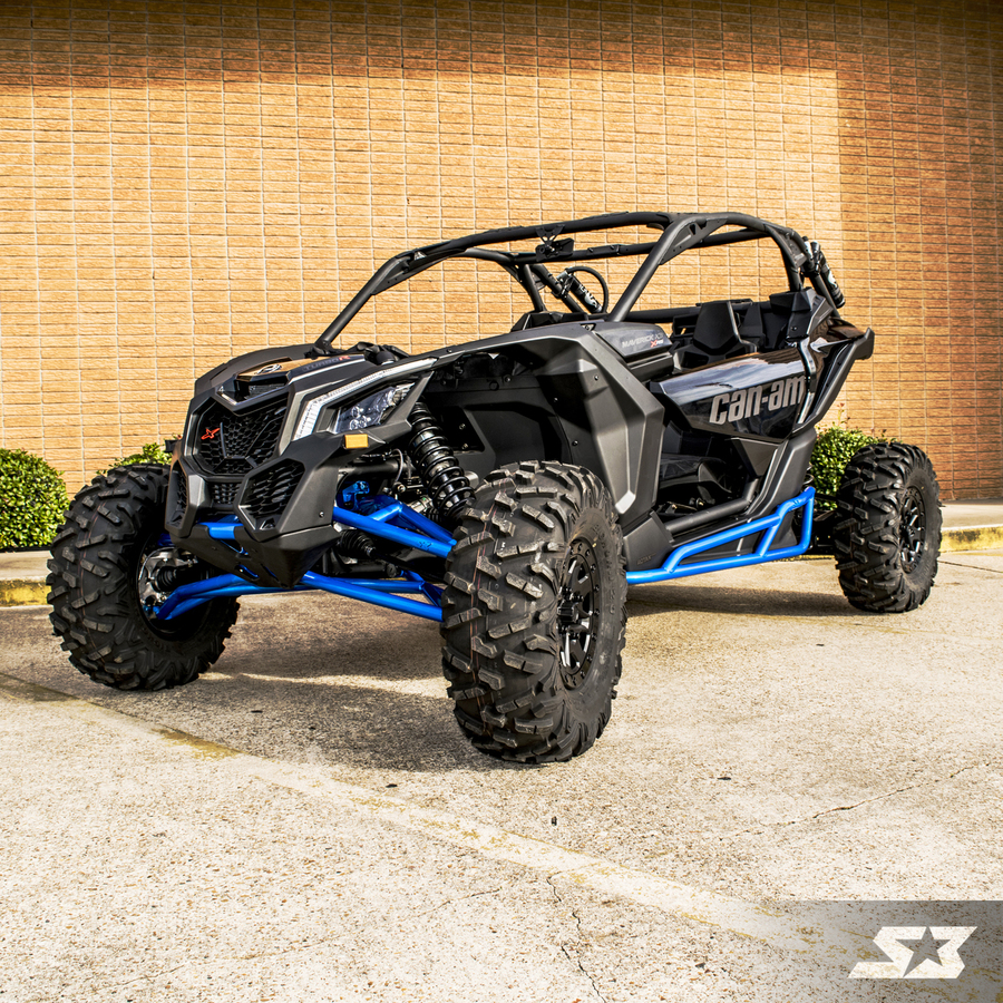 s3 power sports can am maverick x3 hd high clearance front a arms. Black Bedroom Furniture Sets. Home Design Ideas