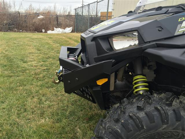 Emp Rzr Nitro Front Bumper Brush Guard With Winch Mount