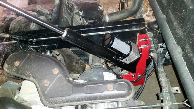 Kawasaki Mule Electric Dump Bed Motor