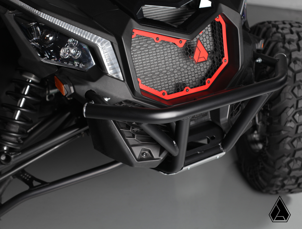 assault industries hellfire front grill fits canam