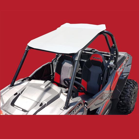 900 TURBO Red Polaris RZR Aluminum Roof for 2 Seat RZR 1000