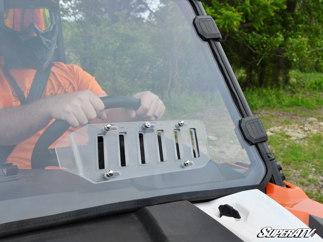 Polaris General Scratch Resistant Vented Full Windshield