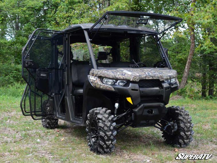 Super Atv Can Am Defender Full Cab Enclosure Doors