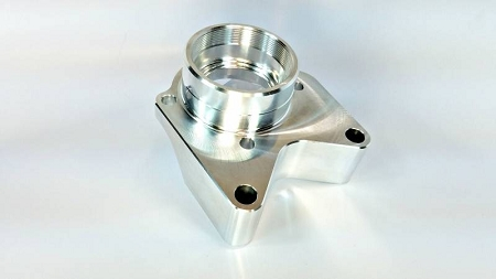 Alba Racing YXZ1000R/SS Billet Diff Cover Bearing Support