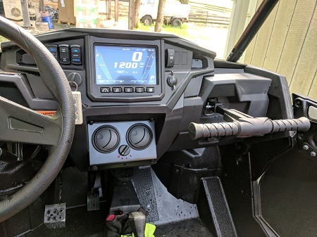 Ice Crusher UTV Cab Heater Polaris '17 RZR XP1000 Turbo, '18+ RZR XP1000  (including Turbo and Ride Command)