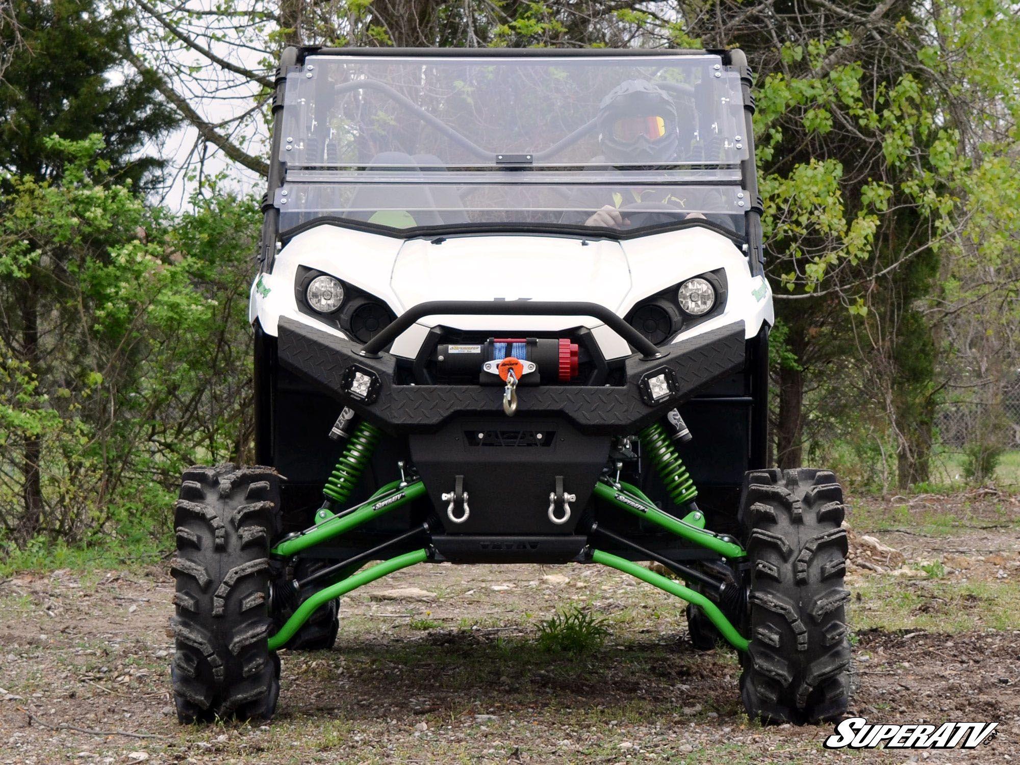 Super Atv Kawasaki Teryx Diamond Plate Front Bumper