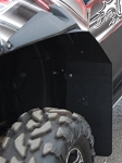 Trail Armor RZRS and RZR4 Mud Flap Fender Extensions for RZRS style Fender Flares