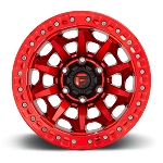 Fuel Covert Breadlock - D113 Candy Red