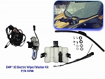 EMP Can-Am Maverick X3 Electric Wiper and Washer Kit (Lower Mount)