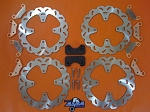 Alba Racing Wildcat Brake Kit with Oversize Rear Rotors