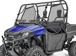 Spike Power Sports Honda Pioneer 700 Dual Venting Hard Coated Windshield