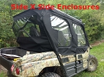 SXS Enclosures Kawasaki Teryx 4 Utv Full Cab Enclosure Sides and Rear Window