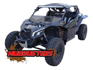 MudBusters Fender Extensions for X3 RS (XL FENDERS)