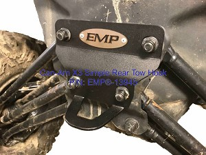 EMP Can-Am X3 Simple Rear Hook (Installs in less than 5 minutes)