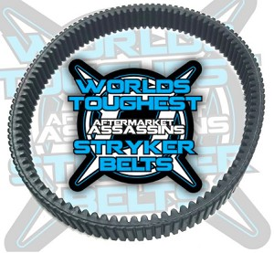 Aftermarket Assassins Stryker Belt for 2018 Ranger XP1000 ONLY