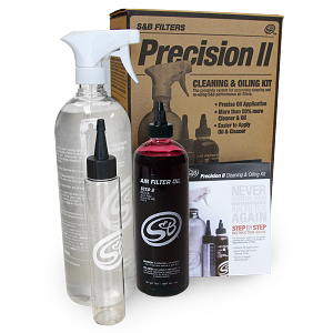 S&B Precision II: Air Filter Cleaning and Oil Kit (Red Oil)