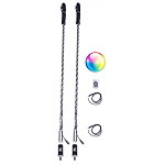 5150 LED Whips w/ Bluetooth - (Pair)