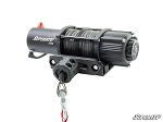Super ATV 5000 Lb. Black Ops UTV/ATV Synthetic Rope Winch