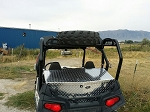 Ryfab Polaris RZR Spare Tire Steel Cargo Racks