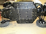 Trail Armor Can Am Maverick X3 Full Skids with Integrated Slider Nerfs 2017 - 2021