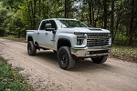 "Zone Offroad's 5"" IFS Lift Kits for 2020 Chevy/GMC 2500HD"