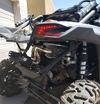 Empire Industries Can Am X3 Baller Exhaust System