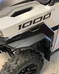 Grizzztek Polaris General Fender Flares And Mud Flaps; 2 & 4 Seat Model Years 2016 - 2021