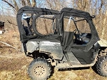 SXS Enclosures Honda Pioneer 700-4 Cab Enclosure Sides Only