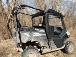 SXS Enclosures Honda Pioneer 700-4 Full Cab Enclosure Sides and Rear Window