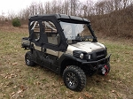 SXS Enclosures Kawasaki Mule Pro Fxt Enclosure Sides Only (uses your existing rear windshield)