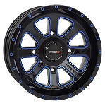 System 3 ST-4 Black / Blue Wheels