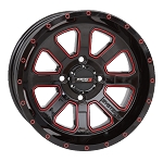 System 3 ST-4 Black / Red Wheels