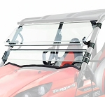 Spike Powersports Kawasaki Teryx 2016+ Full Tilting Scratch Resistant Windshield