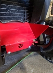 McNasty Honda Talon Front Radiator Air Scoop