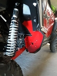 McNasty Honda Talon Rear Mud Guards