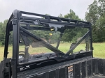 Trail Armor Polaris Ranger 570, 900, 1000 and 2021 Ranger XP 1000 Rear Window Dust Shield