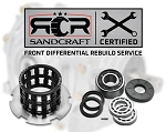 Bulletproof Rebuild Of Your Front Differential With Sandcraft Parts – 2016 RZR XP Turbo