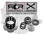 Bulletproof Rebuild Of Your Front Differential With Sandcraft Parts – 2012-2013 RZR XP 900