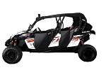 Dirt Specialties Can Am Maverick Max / Commander Suicide Full Doors