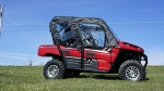 Falcon Ridge 2016+ Teryx 4 Soft Door and Rear Window Combo