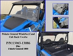 EMP Polaris General Windshield & Cab Back Combo