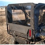 Falcon Ridge Pioneer 1000-5 Front/Back Soft Door Kit with Middle/Rear Windows