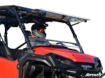 Super ATV Honda Pioneer 1000 Scratch Resistant Flip Windshield