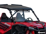 Super ATV Honda Talon 1000X Scratch Resistant Vented Full Windshield