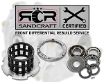 Gen 2 Bulletproof Rebuild Of Your Front Differential With Sandcraft Parts – 2016 RZR XP Turbo
