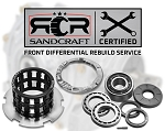 Gen 2 Bulletproof Rebuild Of Your Front Differential With Sandcraft Parts – 2015-2016 RZR XP 1000