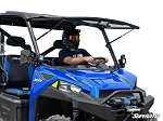 Super ATV Polaris Ranger XP 900 Scratch Resistant Flip Windshield
